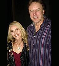 Kaia with Kevin Nealon